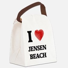 Unique Jensen beach florida Canvas Lunch Bag