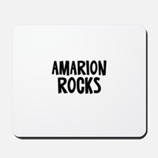 Amarion Rocks Mousepad
