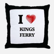 I love Kings Ferry Georgia Throw Pillow