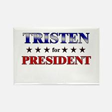 TRISTEN for president Rectangle Magnet