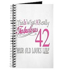 42nd Birthday Gifts Journal