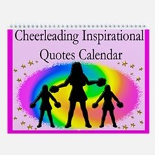 Awesome Cheer Wall Calendar