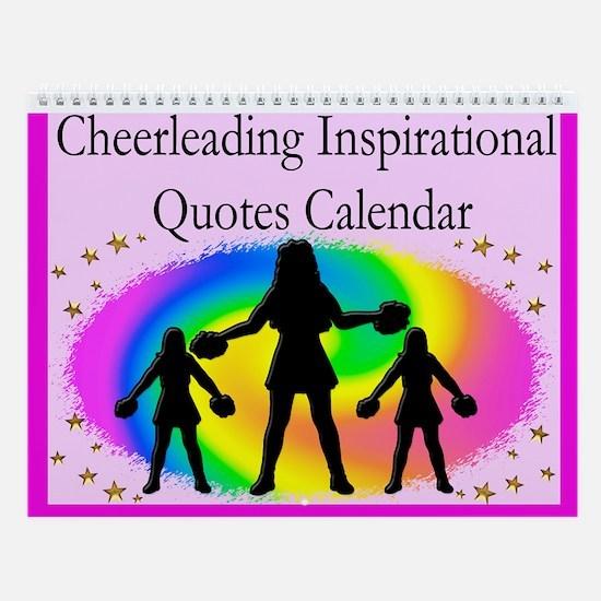 Awesome Cheer Wall Calendar