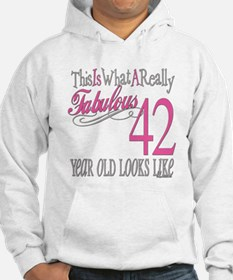 42nd Birthday Gifts Hoodie