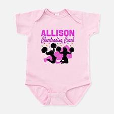CHEERING COACH Infant Bodysuit
