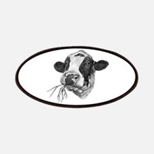 Happy Holstein Friesian Dairy Cow Patch