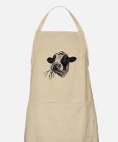 Happy Holstein Friesian Dairy Cow Apron