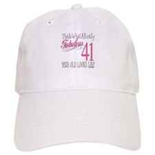 41st Birthday Gifts Cap