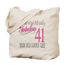41st Birthday Gifts Tote Bag