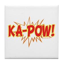 Ka-Pow Tile Coaster
