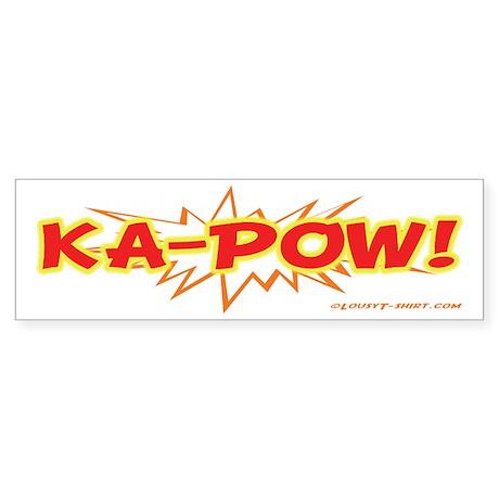 Ka-Pow Bumper Sticker