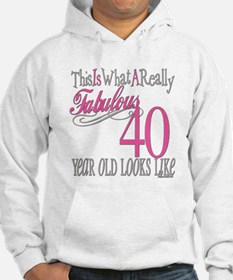 40th Birthday Gifts Hoodie