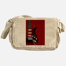 Quality Wood Guitar Messenger Bag