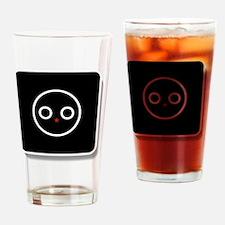 Unique Icono Drinking Glass