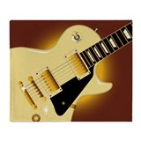 Gibson les paul guitar Fleece Blankets