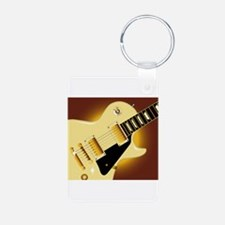 Guitar Close Up Keychains