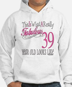 39th Birthday Gifts Hoodie