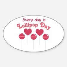 Lollipop Day Decal