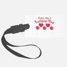 Lollipop Day Luggage Tag