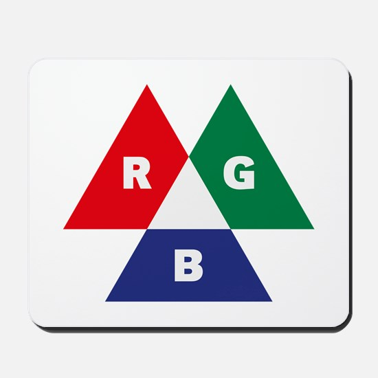 RGB Mode (Red - Green - Blue) Mousepad