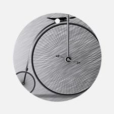 Penny Farthing Bicycle Round Ornament