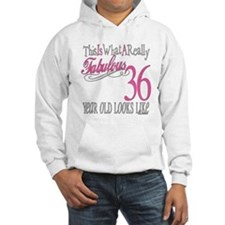 36th Birthday Gifts Hoodie