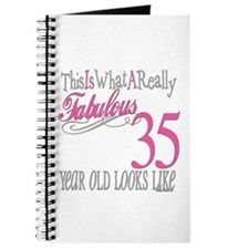 35th Birthday Gifts Journal