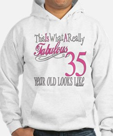 35th Birthday Gifts Hoodie