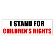 Children's Rights Bumper Bumper Sticker