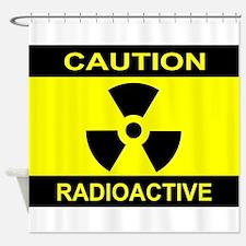 Caution Radioactive Shower Curtain