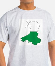 Wales Outline T-Shirt