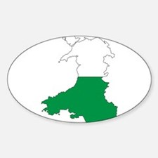 Wales Outline Decal