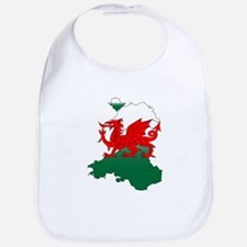 Wales and the Dragon Bib