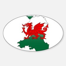 Wales and the Dragon Decal