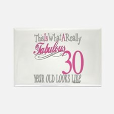 30th Birthday Gifts Rectangle Magnet