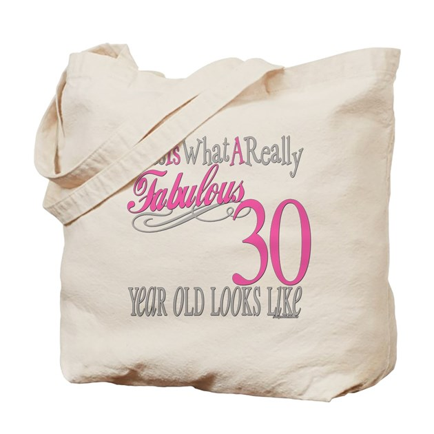 30th birthday gifts tote bag by littletuddler for Home decor 41st
