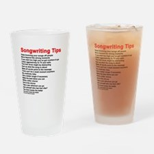 Songwriting Tips Drinking Glass