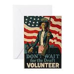 Volunteer! Greeting Cards (Pk of 10)