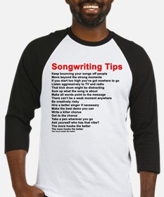 Songwriting Tips Baseball Jersey
