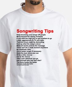 Songwriting Tips T-Shirt