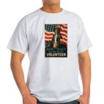 Volunteer!  Ash Grey T-Shirt