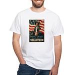 Volunteer! White T-Shirt