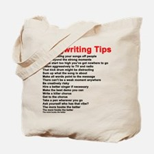 Songwriting Tips Tote Bag