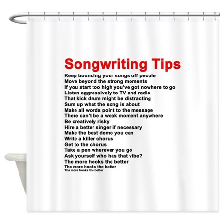 tips for song writing
