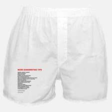 More Songwriting Tips Boxer Shorts