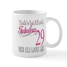 29th Birthday Gifts Small Mug