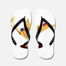 Aladdin lamp design Flip Flops