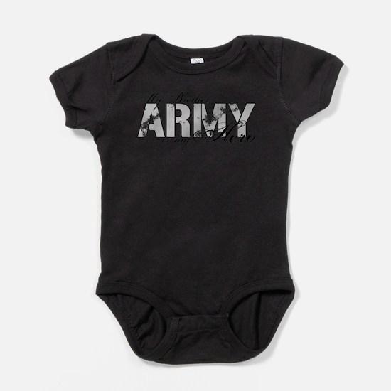 Unique Support soldiers Baby Bodysuit