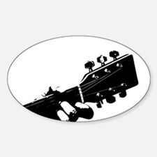 Guitarist Decal