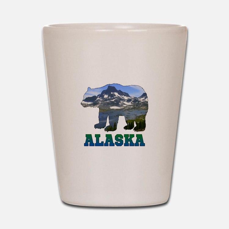 Alaskan Bear Shot Glass
